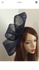 Navy Blue Twist Fashion Fascinator