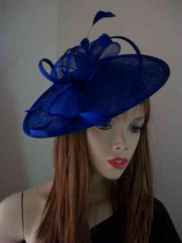 Cobalt Blue Formal Hat