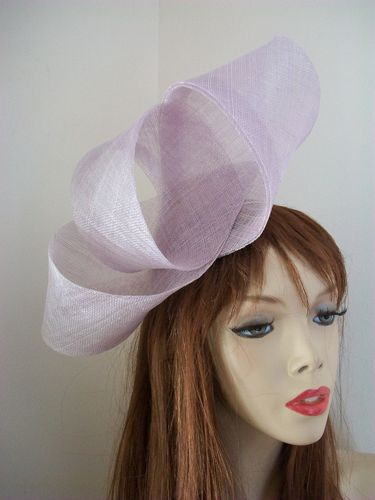 Lilac Twist Loop fascinator