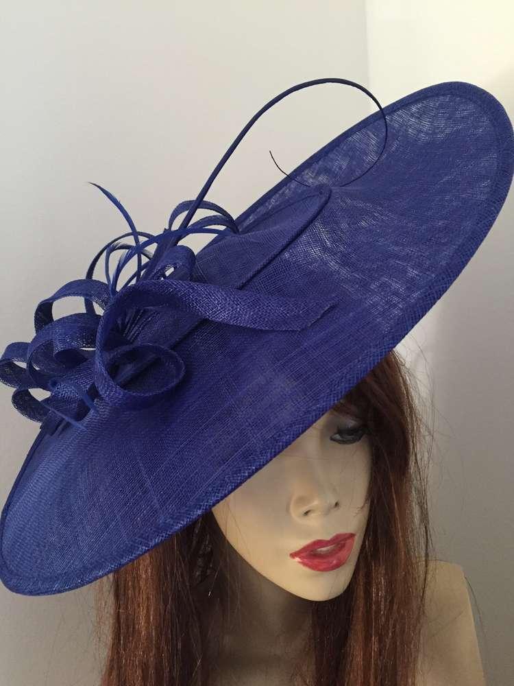 9d767fa9b71 Royal Blue large Saucer Hatinator - www.twistfashion.co.uk