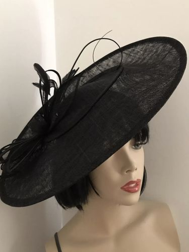 Black Big Saucer Hatinator