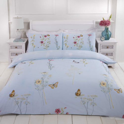 Blue Duvet Set - Single