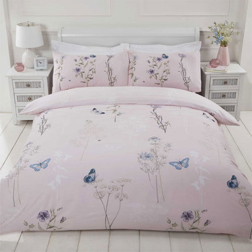 Pink Duvet Set - Single